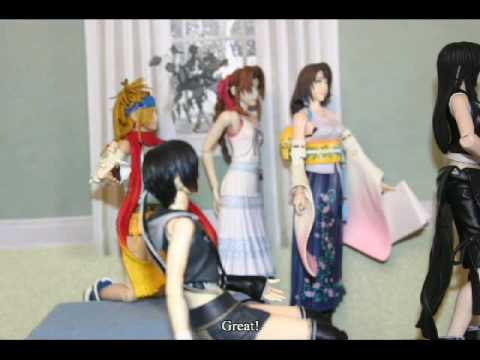 Cloud and Tifa's Action Figure Wedding Part 1