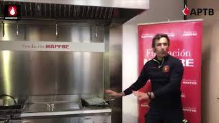 Cómo actuar ante un incendio en la cocina