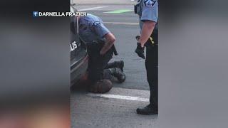 Policjant w USA zabija czarnoskórego przez uduszenie kolanem.