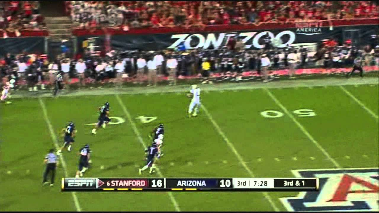 Andrew Luck vs Arizona (2011)