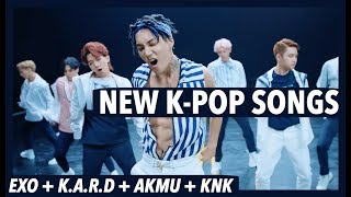 This video shows all the new K-Pop Songs that we could find for this week! -- It is released every week just before our Top 50 K-Pop Songs Chart so that you have a chance to look at and research new songs before voting. Comment below if you think I've missed anything. ^^★ Vote on the TOP 50 K-Pop Songs Chart here: ► https://youtu.be/swdUmOfhllE★ Join our Facebook Group here: ► https://www.facebook.com/groups/2321827508041631/?ref=br_rs★ Buy some great K-Pop Merchandise here: ► http://soaestheticshop.com?rfsn=612138.194e5SOCIAL MEDIA LINKS:★ Website ► https://kvilleonline.com/★ K-Pop Fan Forum: ► https://goo.gl/5H7G6w★ Listen to us on K-Ville Radio! ► https://goo.gl/f6rNLS★ Facebook ► https://goo.gl/lqVWYH★ Twitter ► https://goo.gl/1PbQBY★ VK ► https://goo.gl/xhYv0n★ Pinterest ► https://goo.gl/plcrpw★ Tumblr ► https://goo.gl/Sl4w2E★ Google Plus ► https://goo.gl/ZGiblc★ Instagram ► @kville_entSongs in this video:Dinosaur - AKMUFall Apart - B.GlossyOoh Wee - Big Tray ft. ELOSummer Night - BooOne More Rolli - ChangmoKilling Monday - EVEKo Ko Bop - EXOWoo - GeeksLemonade Love - Jae Jung Parc x MarkJururuk - JainebelYacht - Jay Park ft. Sik-KMost Hated - Jay Park & Dok2Welcome Summer - Jong Shin YoonThat Girl - Jung Yong Hwa ft. LocoHola Hola - K.A.R.DRain - KNKBlister - The KOXXRandom - Lee Jin AhRain 51db - LOONA 1/3Coming of Age - OKDALLife On - Romantic PunchNora - Skull & Haha ft. G.SoulThe Star of Stars - SNUPERYou As You Are - Stella JangFame - TREIDays Gone By - VOISPERSeat Belt - VINCENT & ROSEsTake Five - Younha
