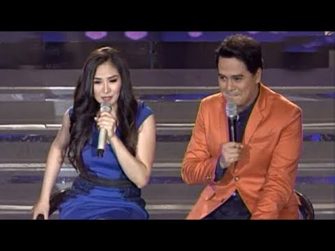 Sarah - Singer-actress Sarah Geronimo sang with John Lloyd Cruz during the last episode of her musical show