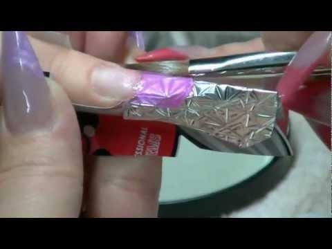 nail art – ricostruzione effetto vetro