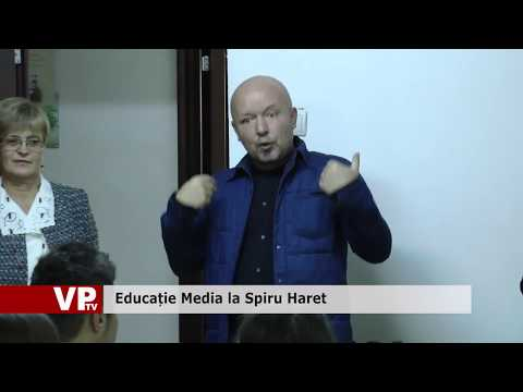 Educație Media la Spiru Haret
