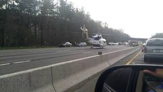 Morristown (NJ) United States  city pictures gallery : Accident and airlift - Part 2 - highway 287 near morristown, NJ , USA