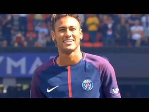 Neymar JR 2017/18 ● All Goals For PSG So Far ● HD