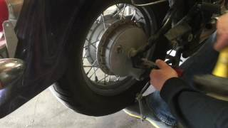 4. 2006 Suzuki Boulevard Replace Rear Tire