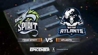 Team Spirit vs Atlants - EPICENTER 2018 CIS Quals - map1 - de_nuke [SSW]