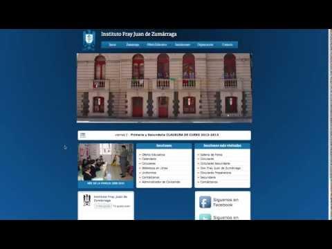 Página Web para una Escuela