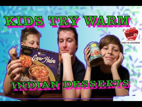 Kid's Try Haldirams  Gulab Juman/ Brar's Tava Style/ Gajar Halva/ Carrot Halva
