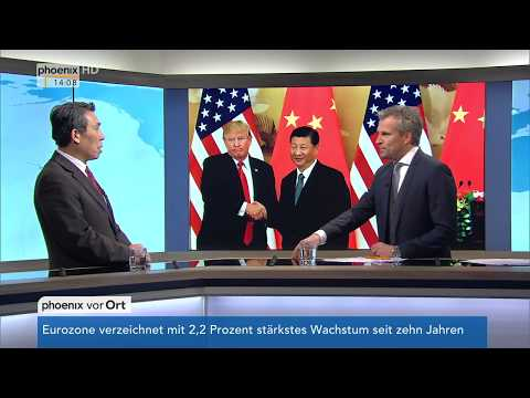 Trump in China: Prof. Xuewu Gu zu Gast im Studio vo ...