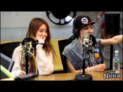 신동의 심심타파 - T-ara N4 Areum,  Freestyle Rap - 티아라엔포 아름, 앨범소개 프리스타일 랩 20130520 (видео)