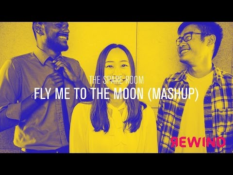 Video Fly me to the moon & Lucky - J. Mraz & F. Sinatra (The Spare Room Mashup) // Rewind Acoustic Session download in MP3, 3GP, MP4, WEBM, AVI, FLV January 2017