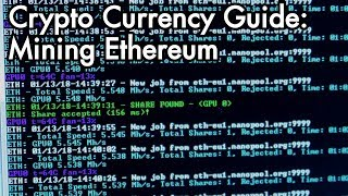 2018 Ethereum Mining Guide: Lets mine Crypto Currency together with Claymore Miner!