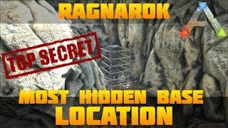 ARK BEST HIDDEN BASE LOCATION #3 Low Profile On Pvp | Ragnarok | Ark:
