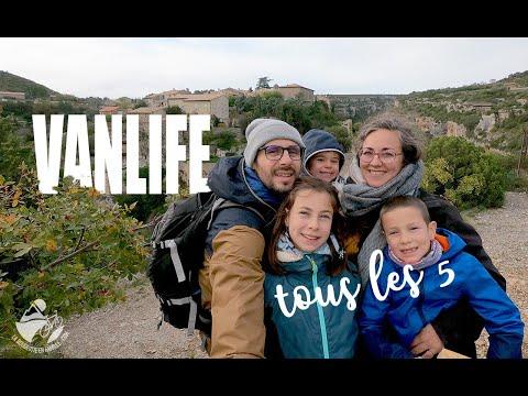 🚐 Vanlife avec 3 enfants sur un week-end - VW T6 California beach
