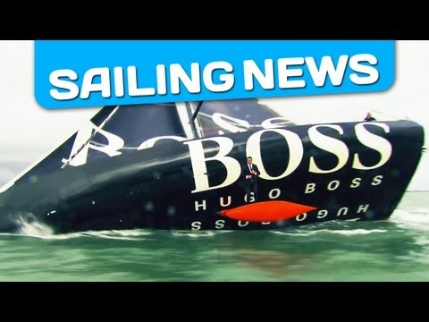 The Keel Walk by Alex Thomson / Hugo Boss