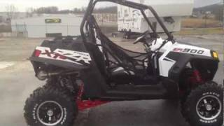 1. 2012 Polaris Ranger RZR XP 900 White Lightning LE