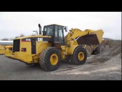 2001 Caterpillar 972g For Sale