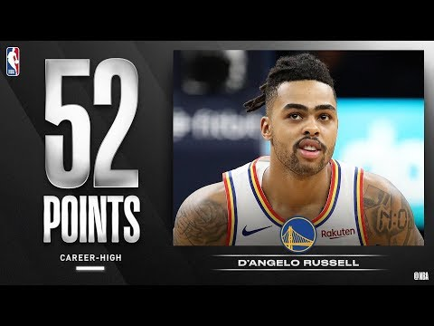 D'Angelo Russell Career High 52 Points vs T-Wolves! 2019-20 NBA Season