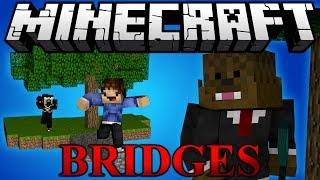 Minecraft Bridges COMMANDERS PVP Minigame w/ Antvenom and Woofless
