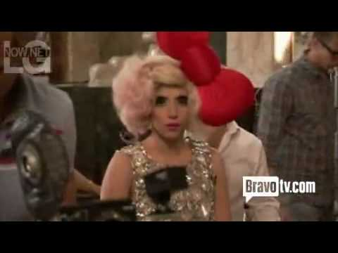 Lady GaGa - Behind The Scenes Of Hello Kitty Photo Shoot [Part 1]