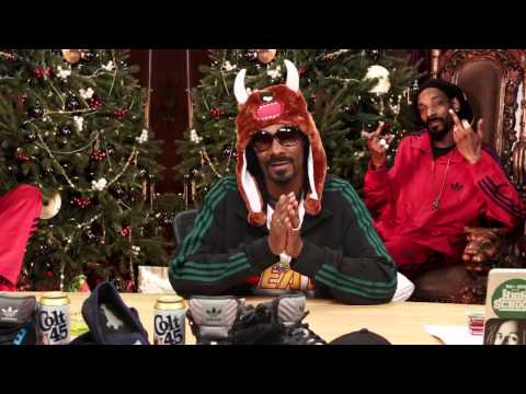 Who wants the best gift ever from Santa Snoop? You lucky punk bitch, you.