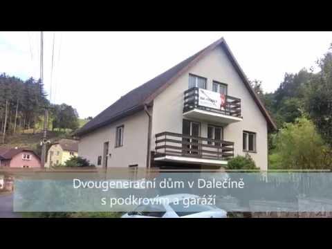 Prodej rodinného domu 200 m2, Dalečín