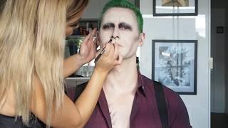 Video My Version of Suicide Squad Joker Special FX Make Up Tutorial MP3, 3GP, MP4, WEBM, AVI, FLV Maret 2018