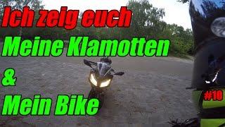 Ich zeige euch meine Klamotten und meine Ninja 300  MotoVlog #10  deutsch/german  FreddysRidingPalace Im heutigen MotoVlog zeige ich euch mal mit welchen...