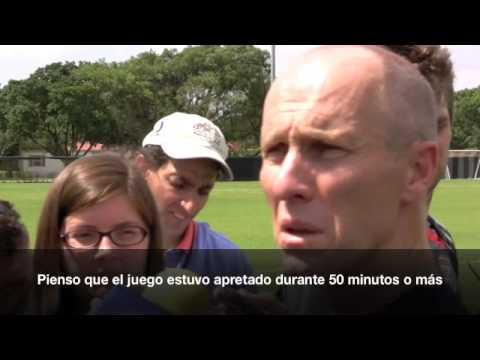 Bob Bradley habla sobre la final de la Copa de Oro ante México
