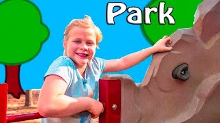 ASSISTANT Playground Playdate Fun with Animals Swiings and Mon...
