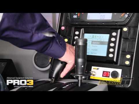 PRO3 Advanced Equipment Simulator for Surface Mining