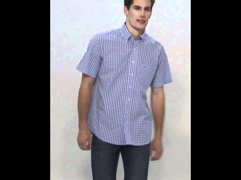 Basefield Man Herren-Freizeithemd kurzarm