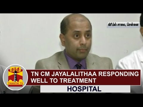 Tamil-Nadu-CM-Jayalalithaa-responding-Well-to-Treatment-to-be-discharged-Soon--Hospital