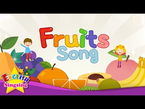 Fruits Song - Educational Children Song - Learning English for Kids