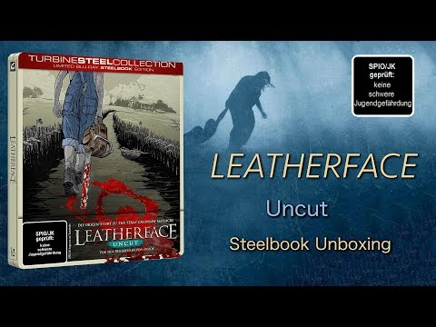 Leatherface 2017- Steelbook Unboxing