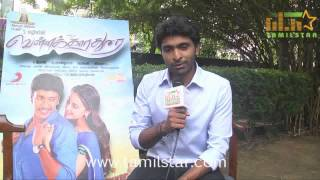 Vikram Prabhu at Vellaikaara Durai Movie Team Interview