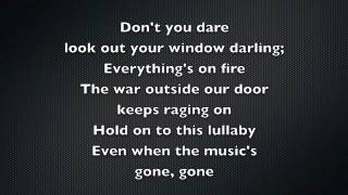 Taylor Swift - Safe and Sound Lyrics Video