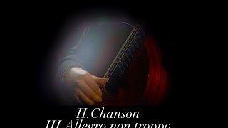 M.M.Ponce: Sonata III (II.Chanson, III.Allegro non troppo), Carlo Marchione