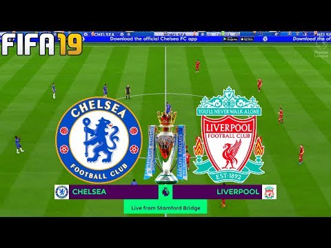 FIFA 19 | Chelsea vs Liverpool - 2019/20 Premier League - Full Match & Gameplay