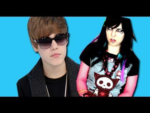 Emo Girl – Justin Bieber is my Boyfriend