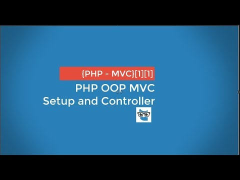Video PHP OOP MVC - setup and controller - 01 download in MP3, 3GP, MP4, WEBM, AVI, FLV January 2017