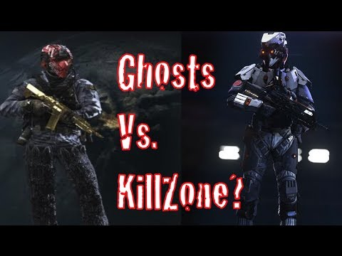 PS4 Call of Duty Ghosts Versus KIllzone (Some thoughts)