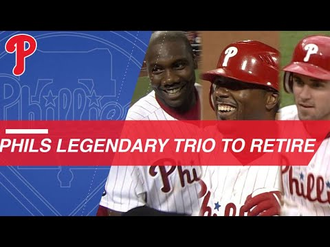 Video: Phils to honor careers of Howard, Rollins and Utley