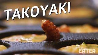 Making Japanese Octopus Balls at New York's Otafuku by Eater