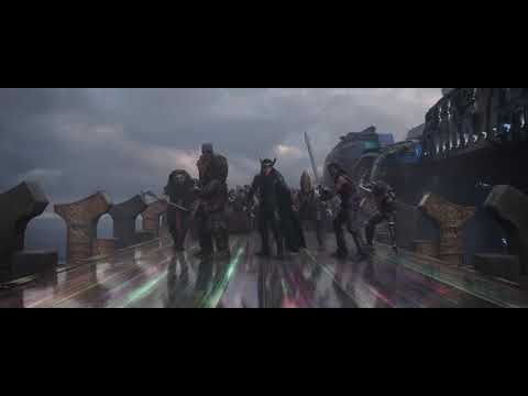 Thor Awakens His Power - Thor Ragnarok