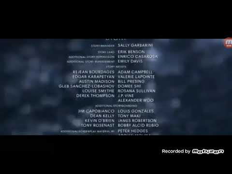 The Good Dinosaur (2015) End Credits (UniMás 2019)