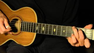 Lesson - The Panic Is On - Fingerpicking Blues - TAB available