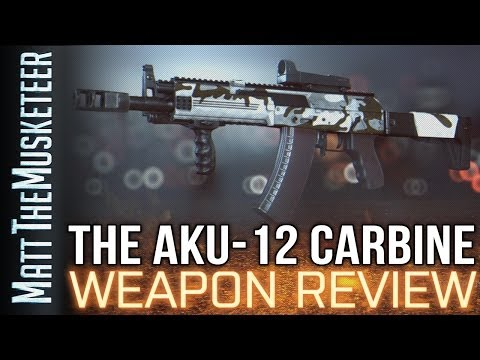 aku - Today we take a closer look at the AKU-12 as requested by you guys! LETS HIT 500 LIKES! Hit Like/Comment if you want to see more! Tell me which weapon you wa...
